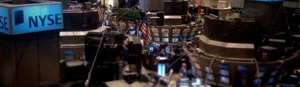 Investors at the NYSE