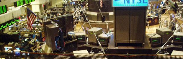 Floor of the New York Stock Exchange
